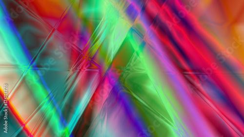 Obraz na płótnie Streszczenie pryzmat liniowy tło
