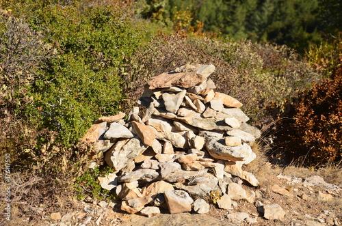 Fotografía  Tas de pierres