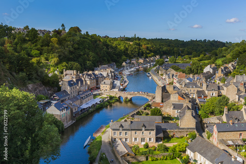 Fotografia Village Dinan in Brittany - France