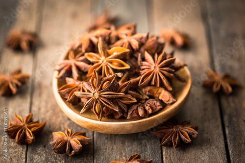 Photo Star anise spice