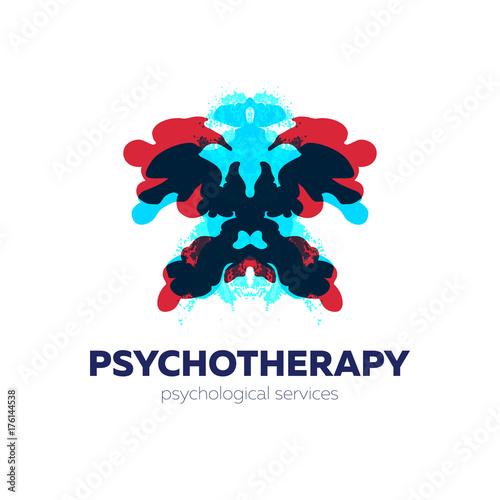 Fényképezés  Psychotherapy and psychological services logo