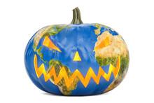 Global Halloween Concept, 3D R...