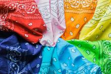 Colorful Bandanas.