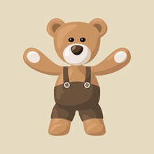 Teddy Bear With Pants