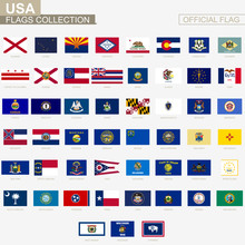 State Flags Of United States O...