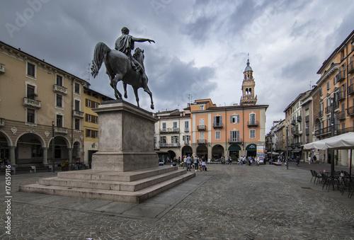 Piazza Mazzini - Casale Monferrato Canvas Print