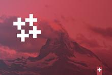 Matterhorn Poster - Swissdesign