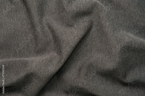 Spoed Foto op Canvas Stof gray fabric texture for background