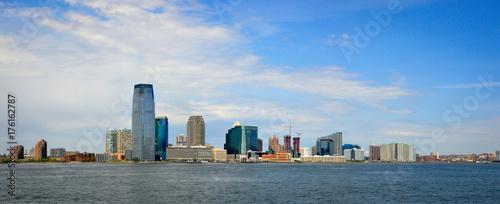 Obraz na dibondzie (fotoboard) Panoramiczny widok na Nowy Jork z morza