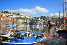 Brixham Harbour Is A Popular P...