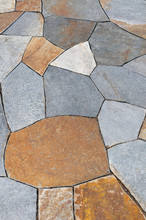 Natural Stone Paving, Mix Colo...