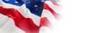 Leinwandbild Motiv Full frame of wrinkled American flag