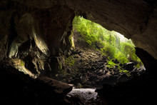 View From Inside Deer Cave In ...