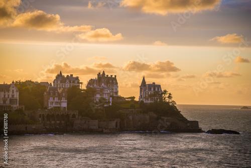 Foto op Aluminium Strand Dinard In Brittany