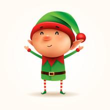 Little Elf. Vector Illustratio...