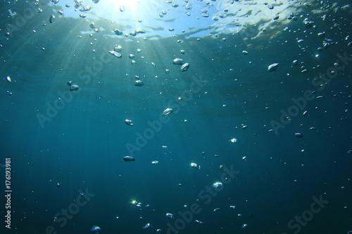 Plakat Podwodne bąbelki