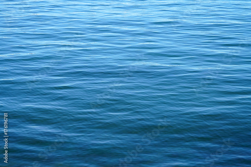 Foto op Aluminium Zee / Oceaan dark blue rippled sea surface