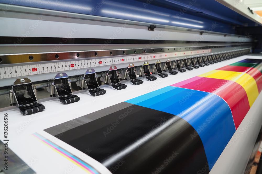 Fototapety, obrazy: Wide-format inkjet printer