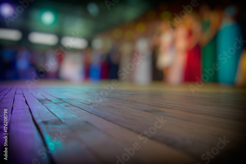 Lurred Silhouettes Of People And Dance Floor Buy This Stock Photo - Where to buy a dance floor