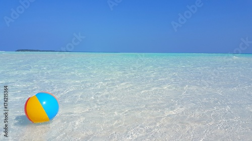 Beach ball in ocean Floating P00187 Maldives White Sandy Beach Ball On Sunny Tropical Paradise Island With Aqua Blue Sky Sea Walmart P00187 Maldives White Sandy Beach Ball On Sunny Tropical Paradise