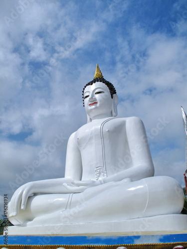 Plakat Statua Buddy