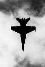Jet Fighter Silhouette
