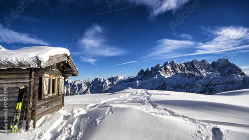 Zdjęcie XXL Zimowy krajobraz