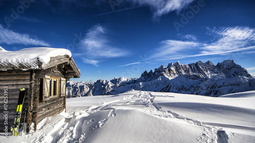 Obraz na płótnie Zimowy krajobraz