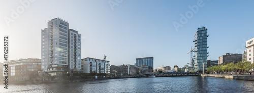 Zdjęcie XXL Panoramę miasta, Dublin