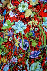 Fototapeta Ogrody Stoffa con stampa floreale