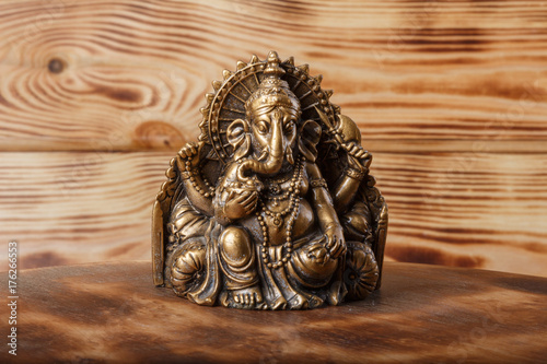 Plakat Bóg sukcesu Ganesha