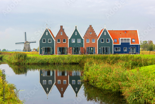 Volendam is a town in North Holland in the Netherlands Canvas Print