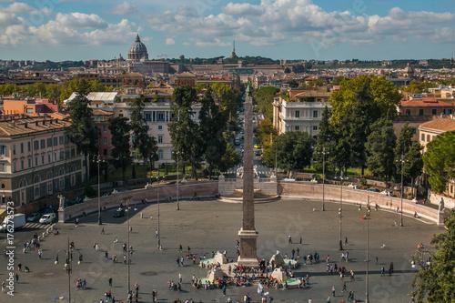 Veduta Panoramica Di Roma Dalla Terrazza Del Pincio Buy