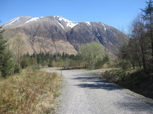 Ben Nevis On A Clear  Summer Day