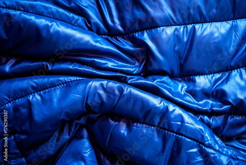 Photo sur Aluminium Aquarelle avec des feuilles tropicales Piumino blu