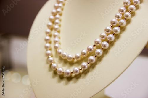 Fotografie, Obraz Pearl necklace