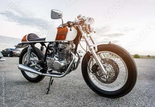 Canvas Print Vintage motorcycle