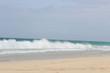 Wellen am Meer, Wasserkraft, Himmel, urlaub