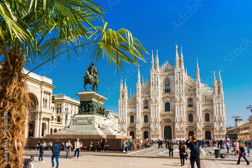 In de dag Milan Milan, Italy