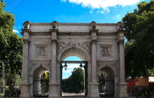 Fototapeta The Marble Arch, Londyn, Anglia.