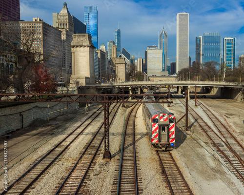 Fototapeta Panoramę Chicago
