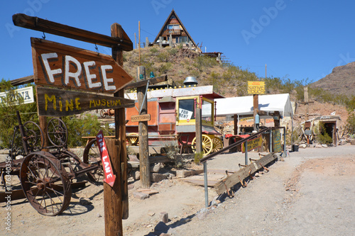 Oatman, Arizona, Route 66, Minen - Stollen