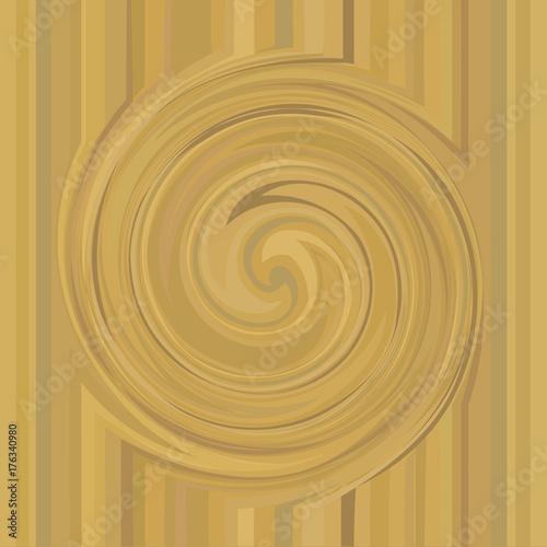 Zdjęcie XXL Element projektu streszczenie spirala metalowa złota. Tło wektor złoty wirowa