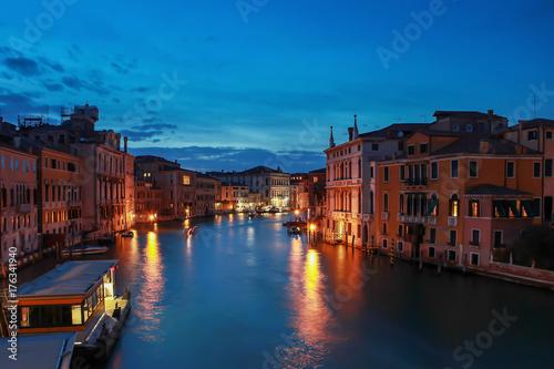Obraz na dibondzie (fotoboard) Zmierzch Wenecji, Włochy