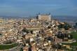View to Toledo, Spain.Alcazar de Toledo.