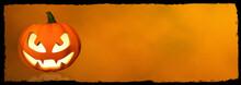 Citrouille Halloween Bannière