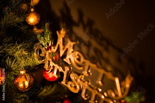 メリークリスマス 大人のオーナメント Buy This Stock Photo And