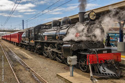 Zdjęcie XXL Pociąg parowy Wellington