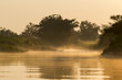 canvas print picture - Sonnenaufgang im Pantanal