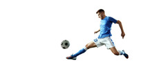 Soccer Player Performs An Acti...